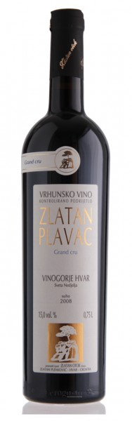 Zlatan Plavac Grand select (ehem. Grand cru) 2012 - Zlatan otok (0,75 l)