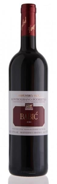 Babic vrhunsko vino 2018 - Vinoplod vinarija (0,75 l)