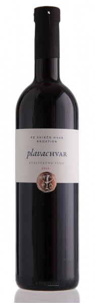 Plavac Hvar 2017 - PZ Svirce 12% vol (0,75 l)