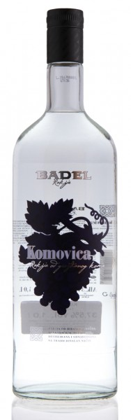 Komovica - Badel Tresterbrand 37,5% vol (1 l)