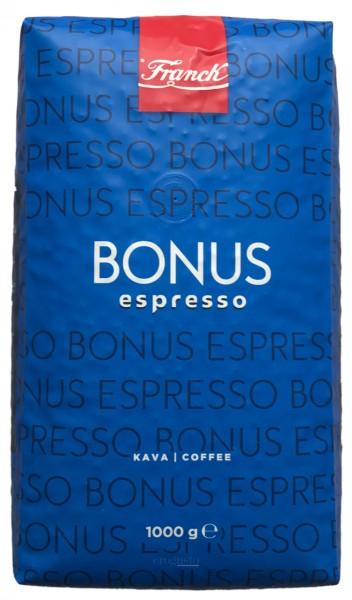 Franck Espresso Bonus - ganze Bohnen (1 kg)