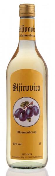 Sljivovica - Budimir Pflaumenbrand 40% vol (1 l)