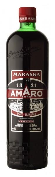Amaro Zara 1886 - Maraska Kräuterlikör 30% vol (1 l)