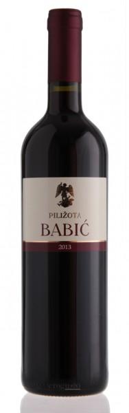 Babic Pilizota 2016 QW - 13% vol (0,75 l)