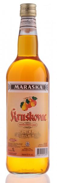 Kruskovac - Maraska Birnenlikör 25% vol (1 l)