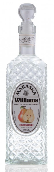 Williams - Maraska Birnenbrand 37,5% vol - Quaderfl. (0,7 l)