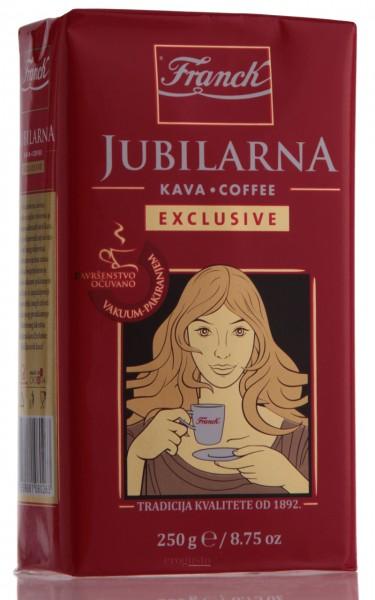 Franck Jubilarna - Ciglica - Kaffe gemahlen, vakuumiert (250 g)