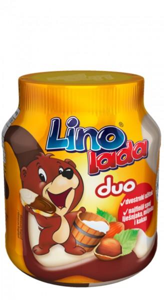 Lino Lada Duo - Podravka - Milch- und Haselnuss-Creme (400 g)