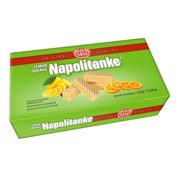 Napolitanke Lemon Orange Kras - Waffel (330 g)