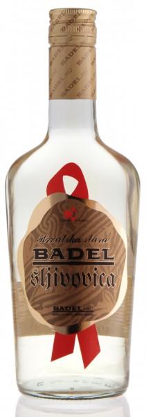 Hrvatska stara sljivovica - Badel Alter Pflaumenbrand 40% vol (0,5 l)