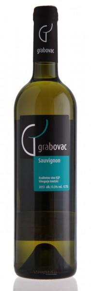 Sauvignon 2014 - Grabovac 12% vol (0,75 l)
