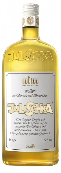 Julischka - Nimco Likör aus Slivovic und Birnenlikör 25% vol (1 l)
