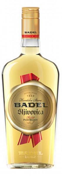 Badel Hrvatska stara sljivovica Flasche Vorderseite