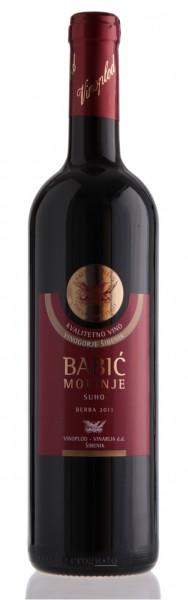Babic Morinje 2012 - Vinoplod vinarija 12,5% vol (0,75 l)